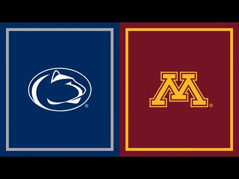 First Half Highlights: Penn State at Minnesota | B1G Football