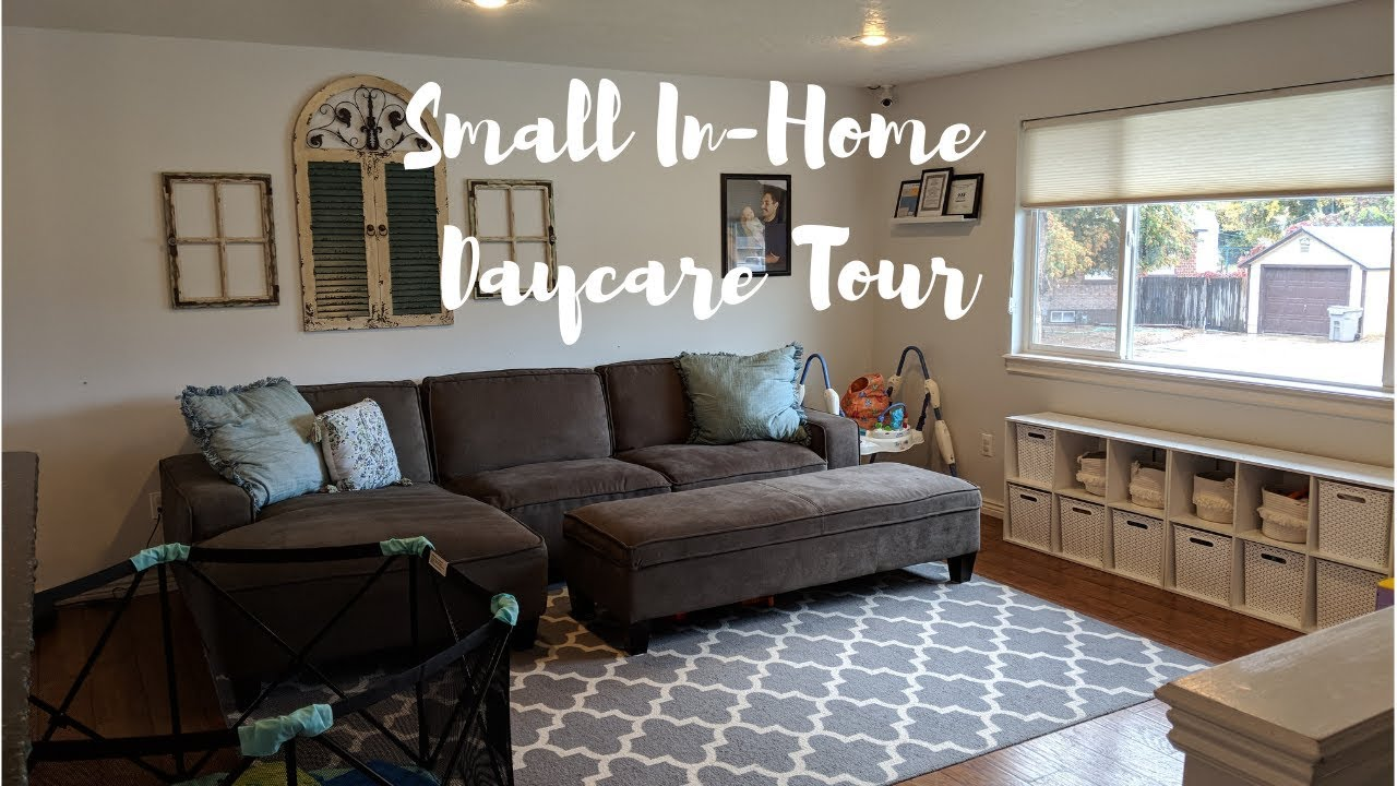 Small In-Home Daycare Tour