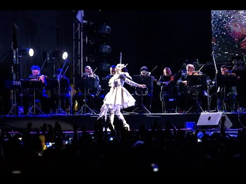 Björk and DJ Arca, full Concert  Symphonic-Electronic,  Mexico 2017