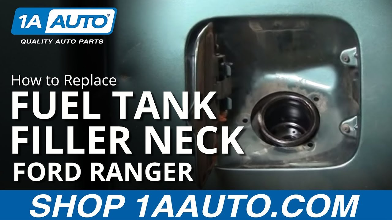 How To Install Replace Leaking Fuel Tank Filler Neck Ford Ranger Aauto Com Youtube