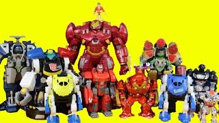 Imaginext Robot Wars Episode 6 TMNT Hulkbuster Batman Joker Rescue Bots Chase Shredder