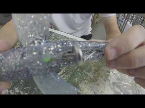 How To Rig A Flying Fish Lure With Stinger Hook For Kite Fishing