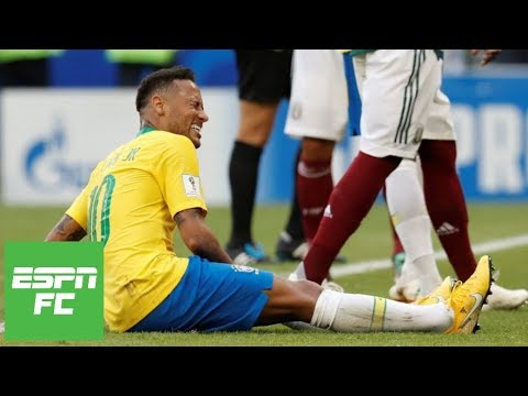 Mexico coach rips Neymar for 'shameful,' 'clowning' behavior during Brazil's World Cup win | ESPN FC
