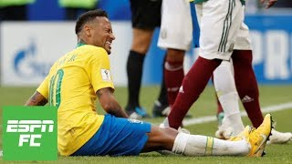 Mexico coach rips Neymar for