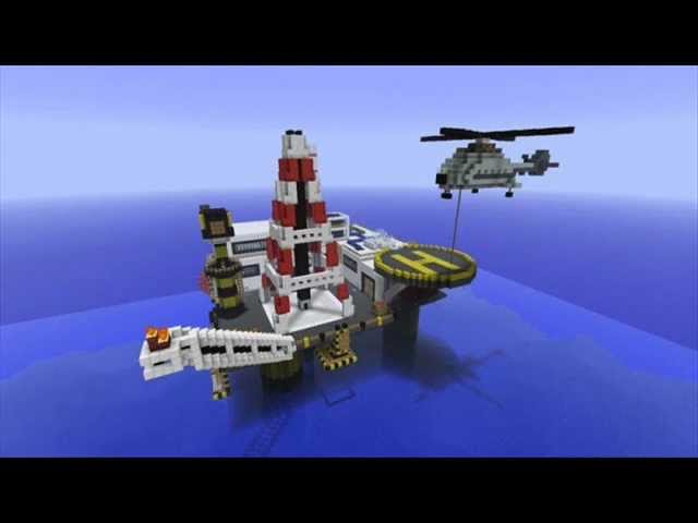 Top 10 Minecraft Bauwerke 2013
