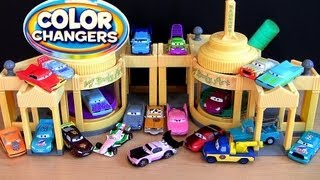 26 Color Changers Cars Ramone Playset CARS 2 Ramone House of Body Art Disney Pixar by Blucollection