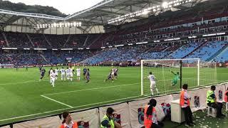 Trabzonspor-Kasımpaşa/Rodallega Rövaşata tribün çekimi.