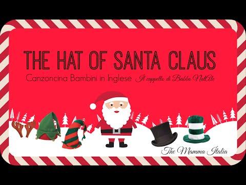 Natale in Inglese - Santa's Hat - per bambini
