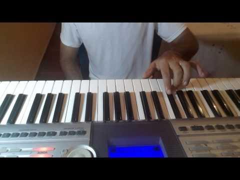 PIANO FACIL ESCALA DE FA MAYOR nota por nota