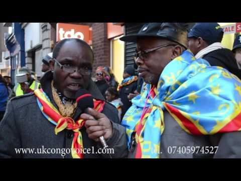 Congo Embassy demonstration