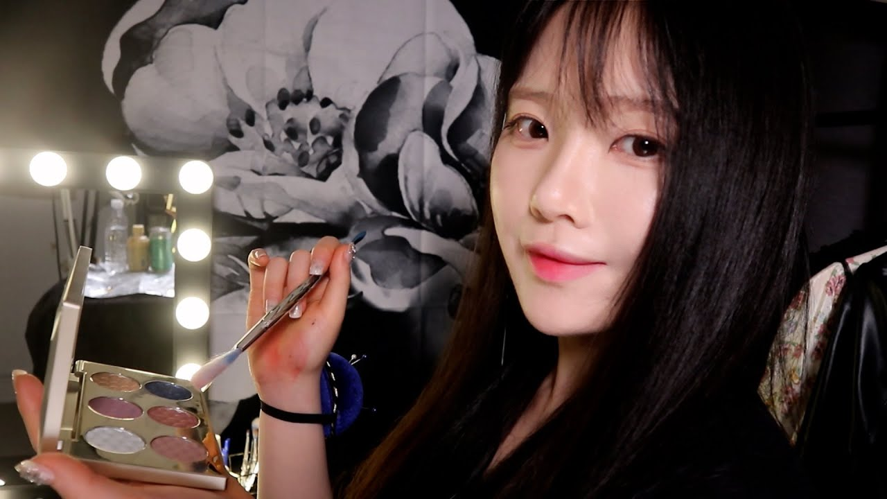 ASMR(Sub✔) 아이돌 대기실 메이크업 상황극  K-POP make up Role Play (in the Back Stage)