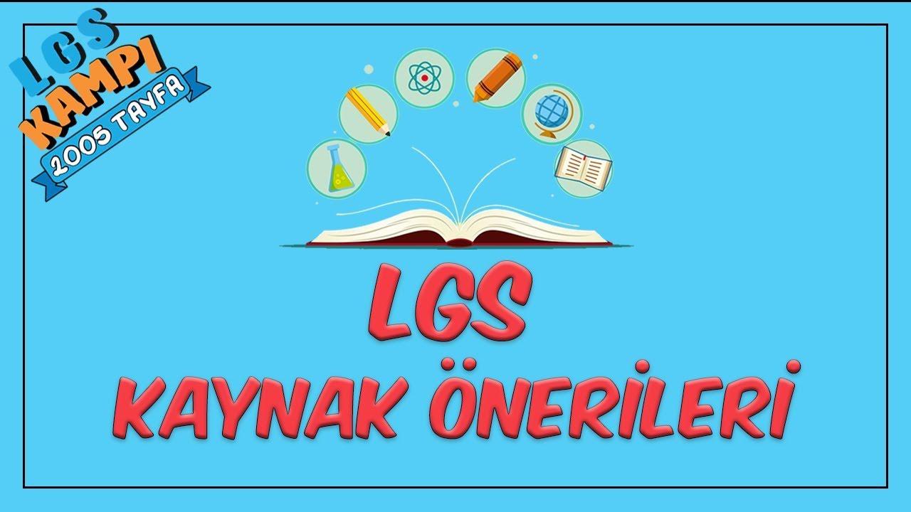 LGS Kaynak Önerileri