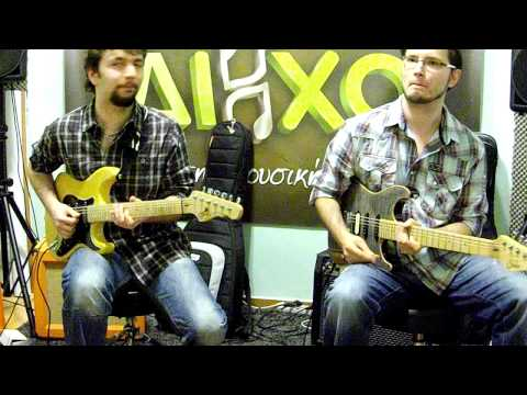 Tom Quayle & George Marios - Guitar masterclass in Greece