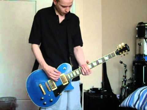 feeder purple guitar cover
