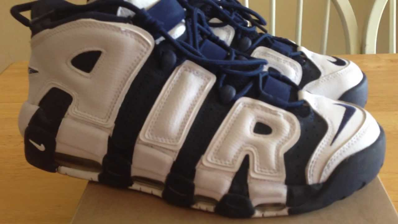 e4bcfab47d92 Nike Air More Uptempo Olympic Scottie Pippen - YouTube