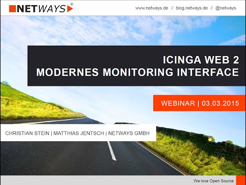 Repeat Icinga Web and Nagvis Automaps by Stephen Fritz