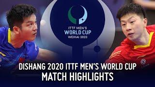 Ma Long vs Fan Zhendong | 2020 ITTF Men's World Cup Highlights (Final)
