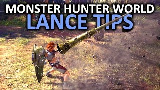 Monster Hunter World Lance Tips