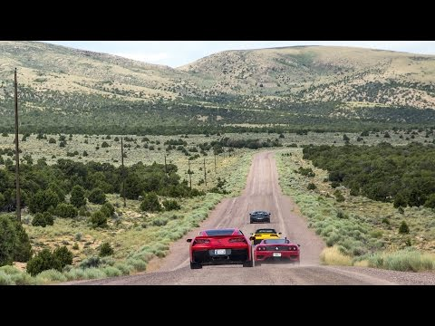 Dirt Roads + Exotic Cars = Broken Windshields