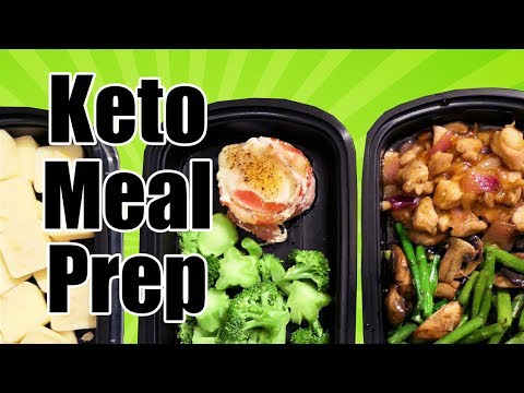 Keto Meal Prep With Me | Dairy & Nut Free