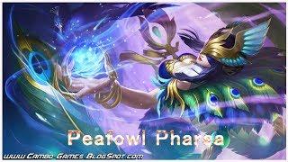 Mobile Legends Bang Bang 5v5! New Skin - Peafowl Pharsa (Pharsa) Gameplay Android/iOS