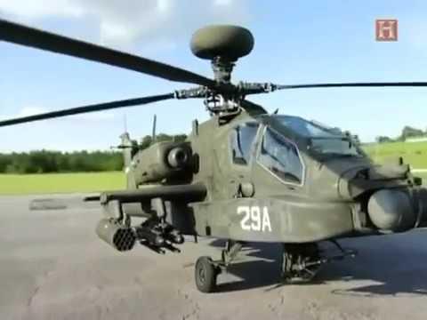 戦闘するデザイン 「AH-64 アパッチ 攻撃ヘリコプター」