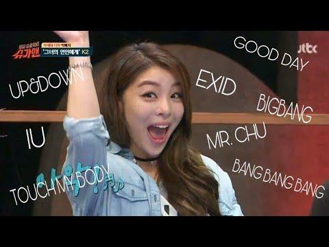 Ailee Singing&Dancing to Other K-Idols Songs (BIGBANG, SISTAR,2NE1,etc..)