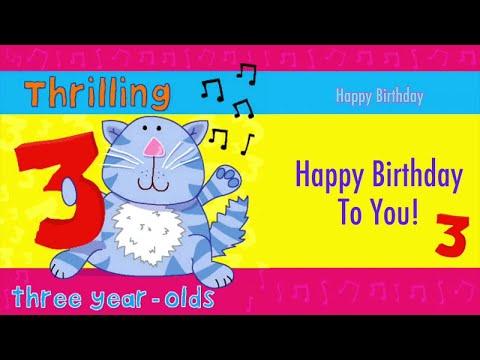 Kidzone - Happy Birthday To Three Year Olds