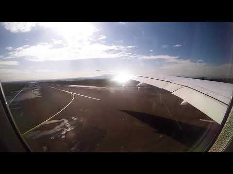 Ethiopian Airlines B787-8 Takeoff from Addis Ababa