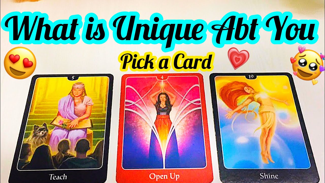 PICK CARD- WHAT IS SPECIAL ABOUT YOU- APKI KYA UNIQUE QUALITIES