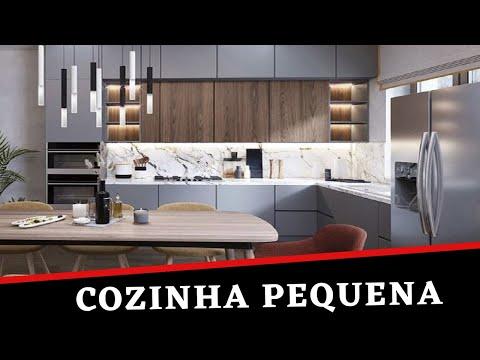 93 Modelos De Cozinhas Pequenas: Dicas E Idéias | Rizza Diniz Arquiteta