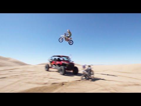 129-Foot Dune Jump? | RIDER VLOG