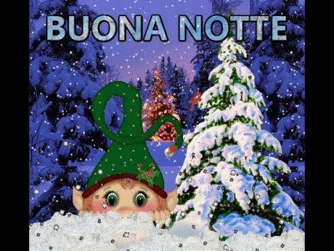 Immagini Di Buona Notte Di Natale.Buona Notte 21 Dicembre Una Notte Piena Di Stelle Per Te Che Portano Al Natale Youtube