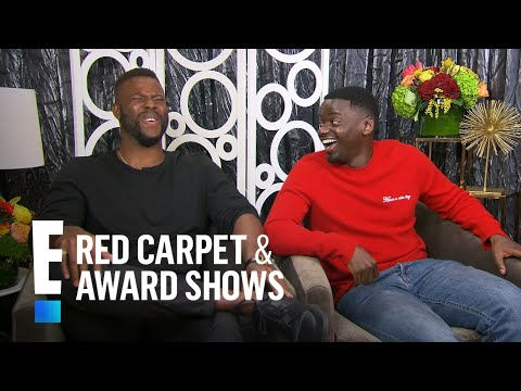 "Daniel Kaluuya & Winston Duke on Filming ""Black Panther""  E! Live from the Red Carpet"