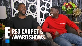 "Daniel Kaluuya & Winston Duke on Filming ""Black Panther"" 