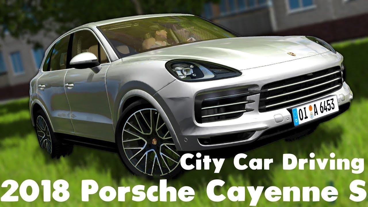 City Car Driving 2018 Porsche Cayenne S Custom Sound Link