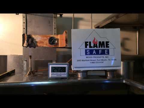 Fire Retardant Wood I-joists 1-800-333-9197  Part 3 Flame Safe