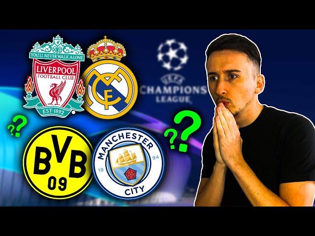 PRONOSTIC FOOT : QUI IRA EN DEMI FINALE ? Liverpool - Real / Dortmund - City