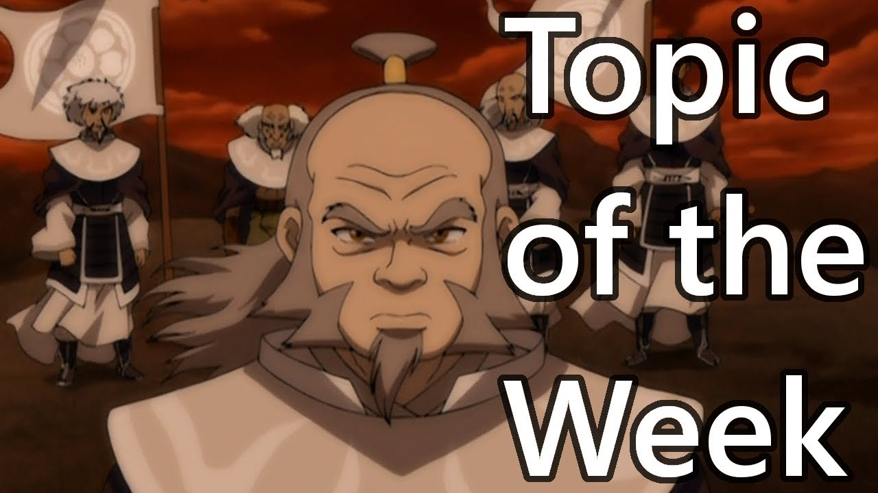 Topic Of The Week 150 The White Lotus In Atla And Lok Youtube