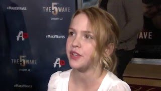 The 5th Wave Fan Screening Interview - Talitha Bateman