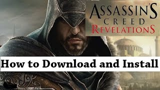How to Download and Install Assassins Creed Revelations PC Game