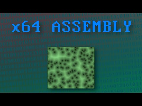 x64 Assembly and C++ Tutorial 32: String Instructions 1, Store String and the Repeat Prefix