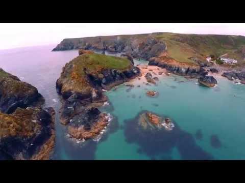 Phantom Drone Aerial Video of Cornwall, Sancerre, Brittany, and Dordogne