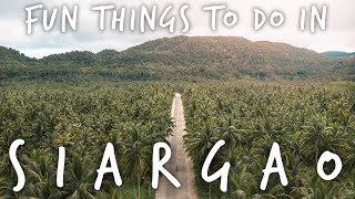 things to do on SIARGAO ISLAND - Philippines Travel Vlog 2019