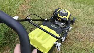 How to Clean a Ryobi 175cc Lawn Mower Filter RLM4617ME