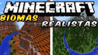 Minecraft - Biomas hermosos MOD (Siéntete en el mundo real!!) - ESPAÑOL TUTORIAL