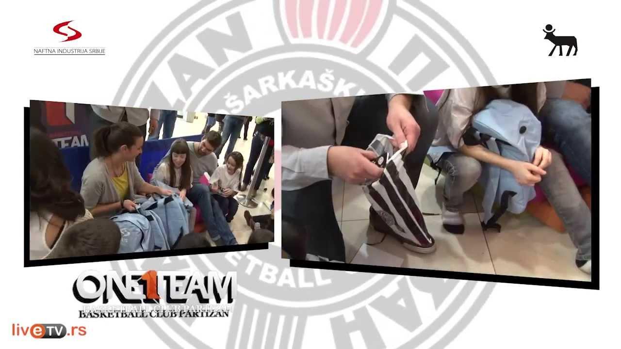 25 - Partizan One Team projekat na Dečijoj nedelji sporta