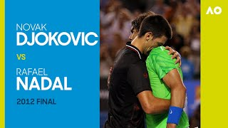 Novak Djokovic vs Rafael Nadal in the longest final in Grand Slam history! | Australian Open 2012
