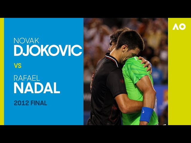 Novak Djokovic vs Rafael Nadal in the longest final in Grand Slam history! | Australian Open 2012