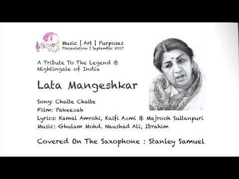 Chalte Chalte Yuhin Koi Mil Gaya Tha | Lata Mangehskar | Saxophone Cover |  #287 | Stanley Samuel